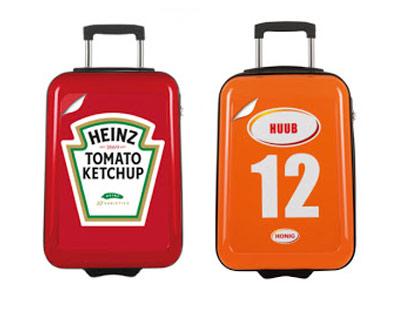 Koffers bedrukt