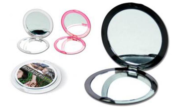 Leuke duo zakspiegel met normale en vergrotende spiegel for Vergrotende spiegel