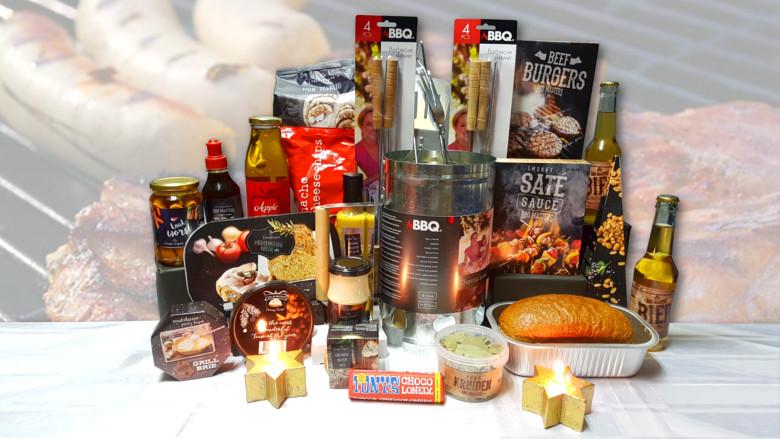 Kerstpakket: Master BBQ pakket