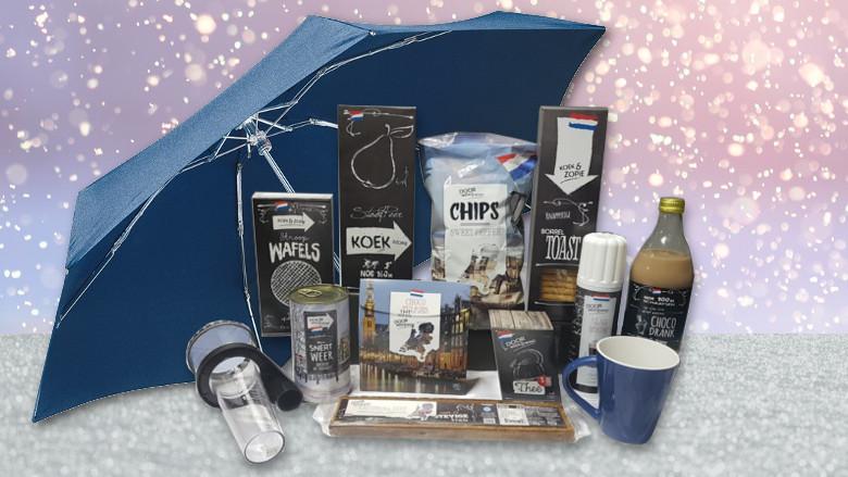 Kerstpakket: Door weer en wind