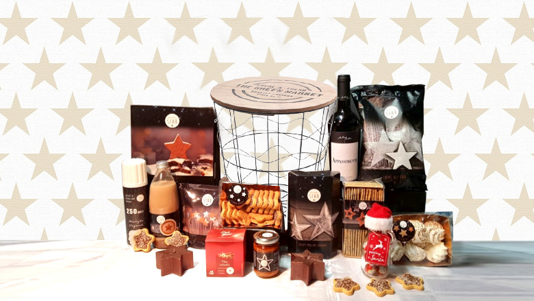 Kerstpakket : Iron Basket 'Keep on Sparkling'