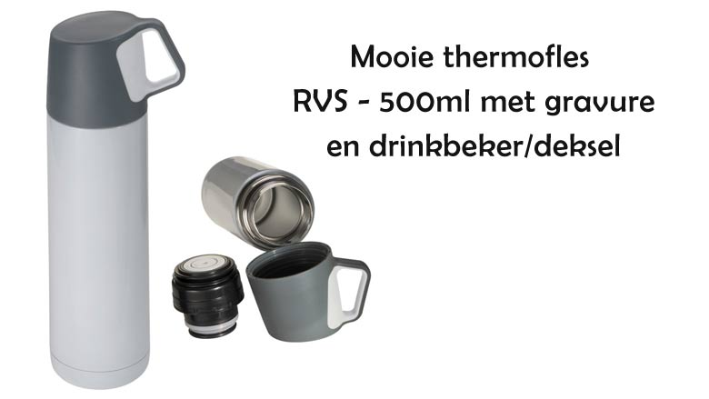 Mooie RVS thermofles